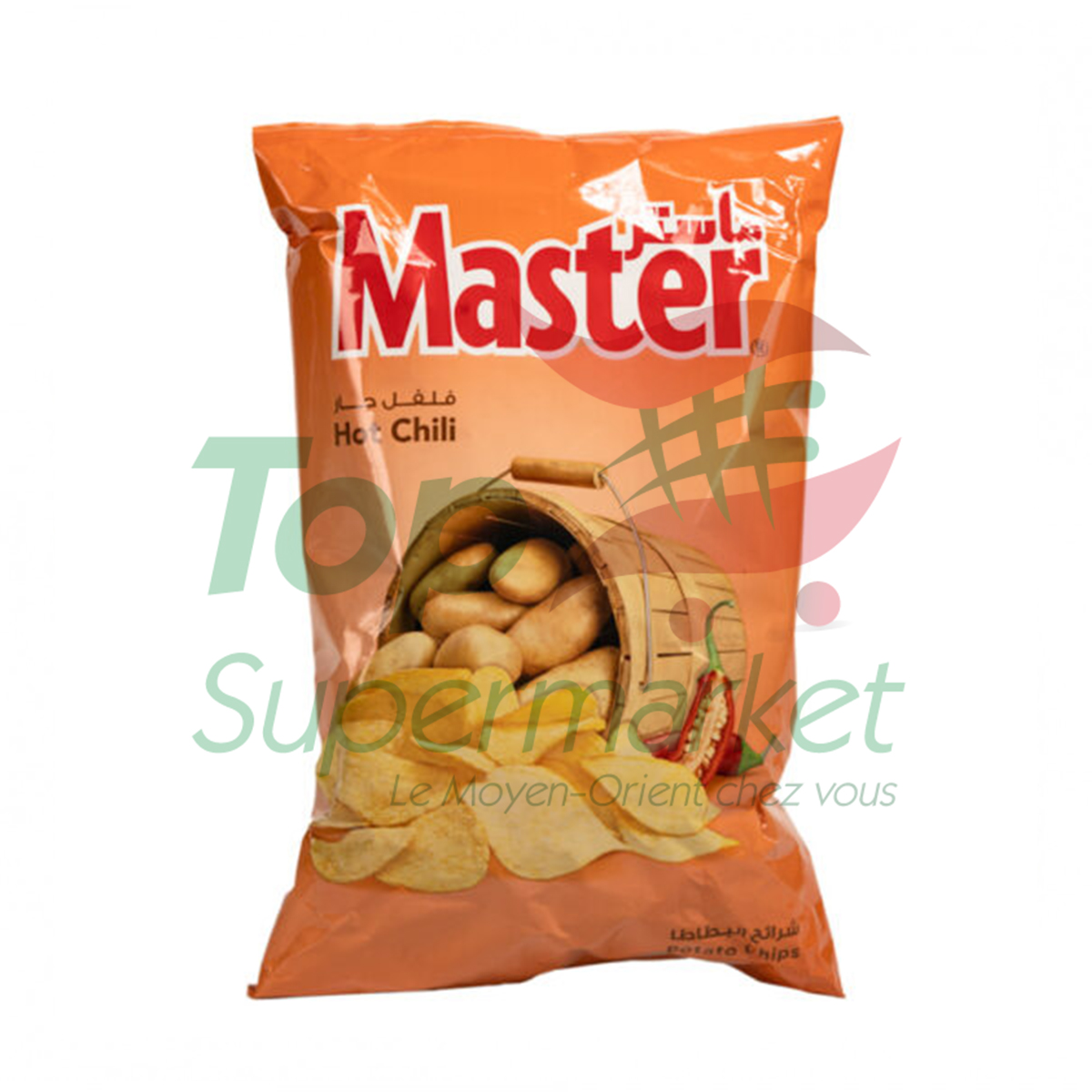 Master Chips Hot Chili 106gr