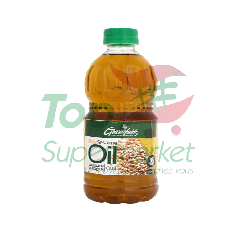 Green Fields huile de sésame 500ml